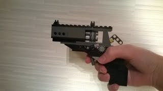 How To Build Very Simple Lego Revolver (WORKING)