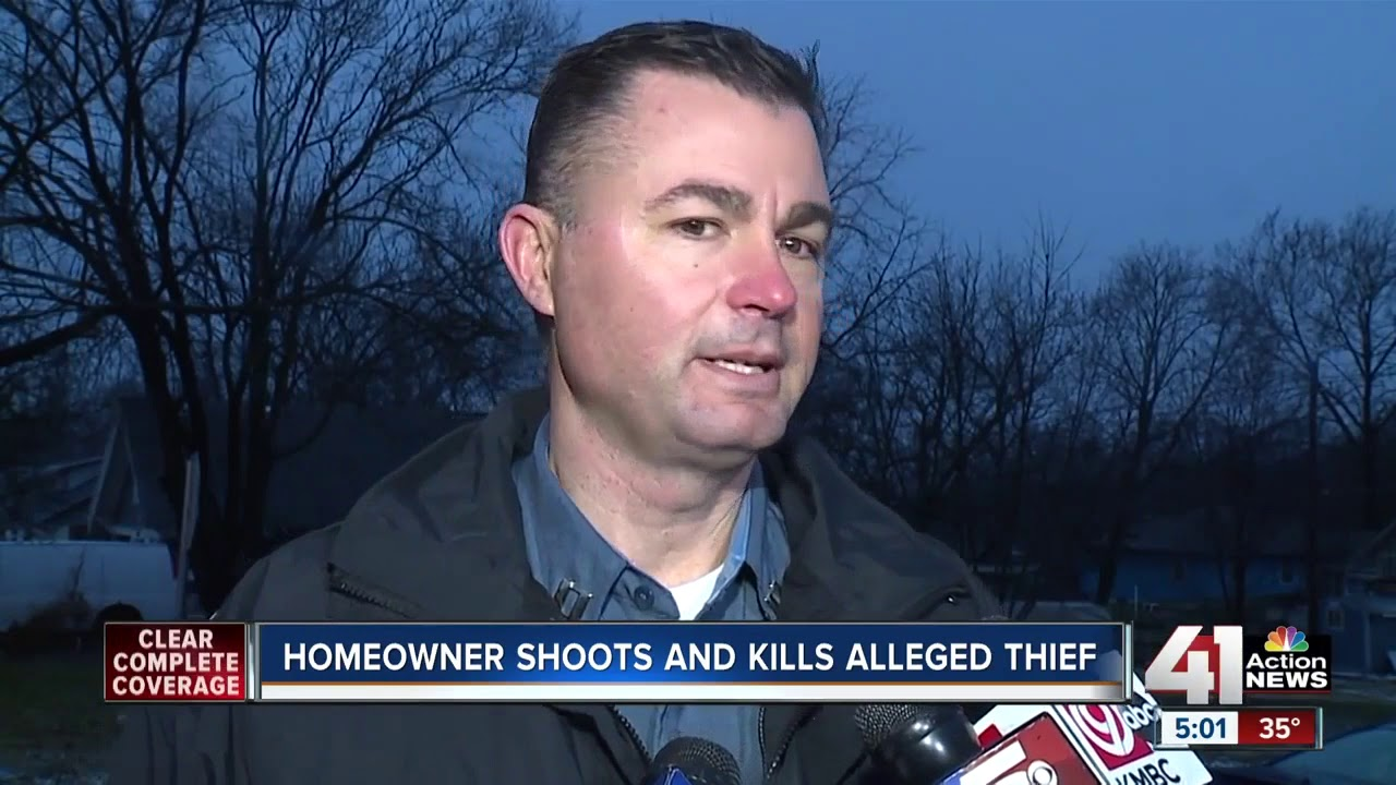 KCMO homeowner shoots, kills alleged intruder