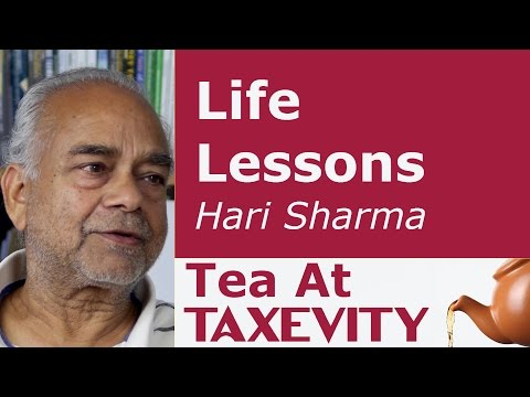Life Lessons: Hari Sharma | Tea At Taxevity #5