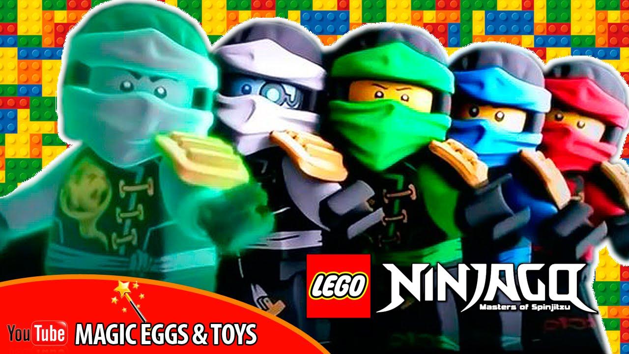 картинки лего ниндзя го все ниндзя