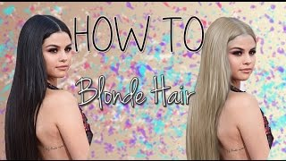HOW TO : Blonde Hair | Photoshop