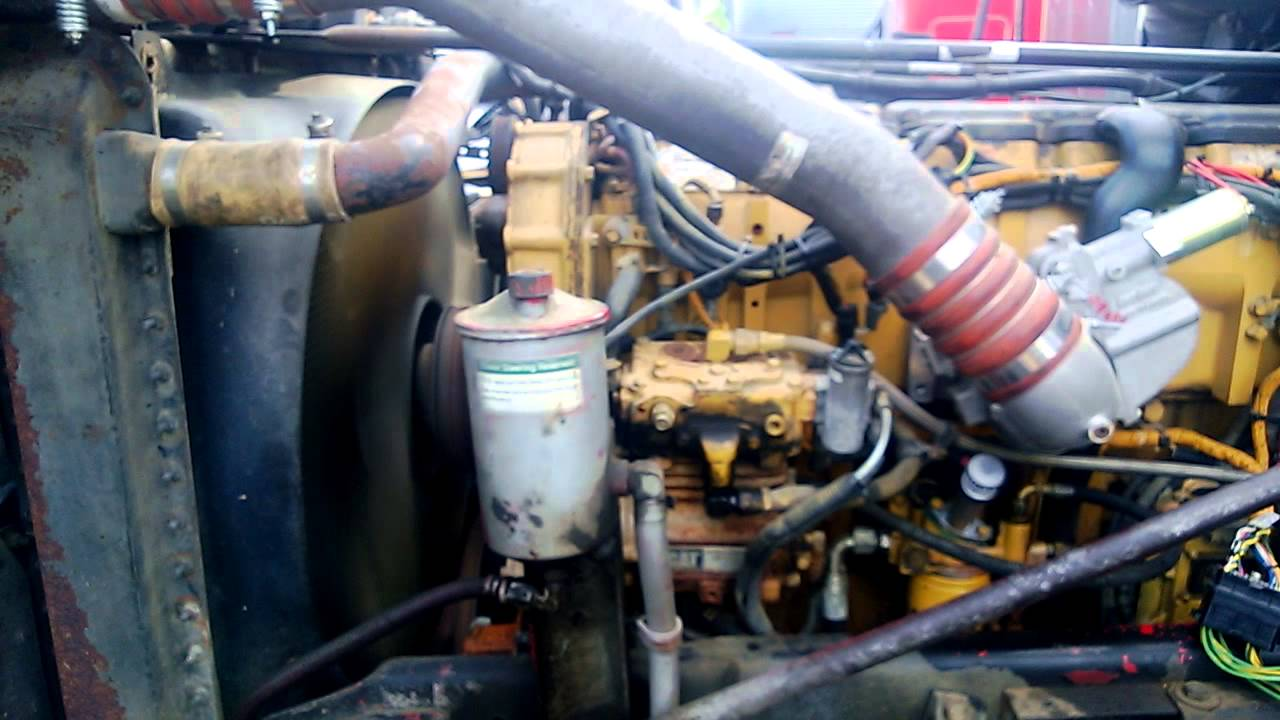 3406e Starter Wiring Diagram C15 Cat Engine First Start Up With Aftermarket Ecu Ecm