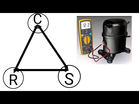 How to Find Common,Running and Starting point of rotary compressor |latest 2021