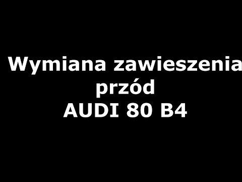 Wymiana zawieszenia przód Audi 80 B4