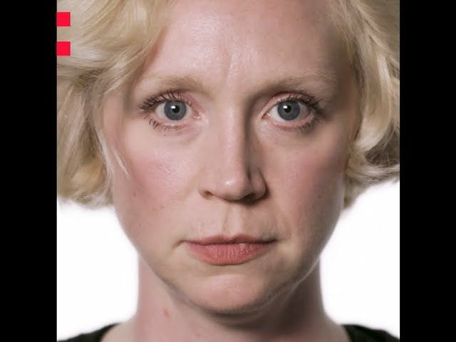 Frame of a video of Gwendoline Christie speaking about the Odyssey project