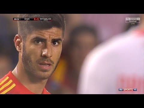 Marco Asensio vs Switzerland (Friendly) (03/06/2018) HD 1080i by Asensio20™