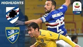 Sampdoria 0-1 Frosinone | Daniel Ciofani