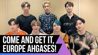 GOT7 are spinning their way to Europe!