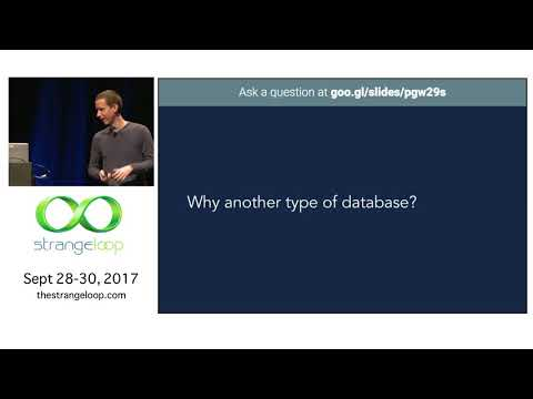 """""""The hows and whys of a distributed SQL database"""" by Alex Robinson"""