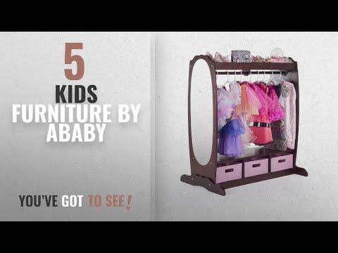 Top 10 Ababy Kids Furniture [2018]: Guidecraft Dress Up Storage Center Espresso - Dark Cherry