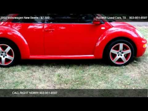 2002 Volkswagen New Beetle Sport - for sale in Sulphur Springs, TX 75482