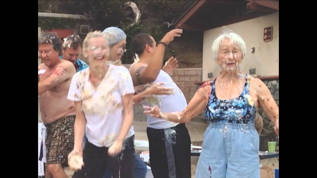 Pie Fight Laguna Laughter Club Youtube