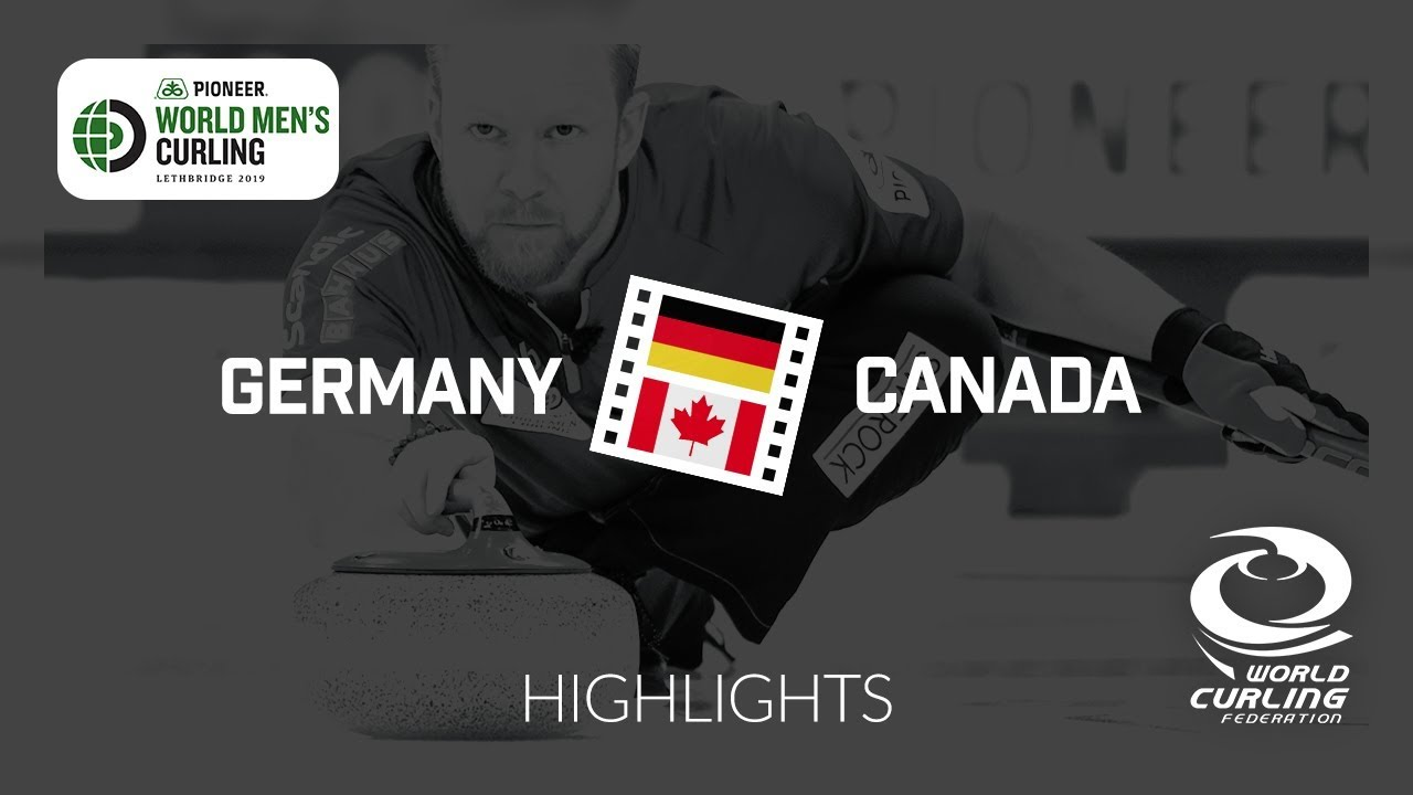 HIGHLIGHTS: Germany v Canada - round robin - Pioneer Hi-Bred World Men's  Curling Championship 2019