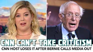 CNN Host Loses Iт After Bernie Calls Media Out