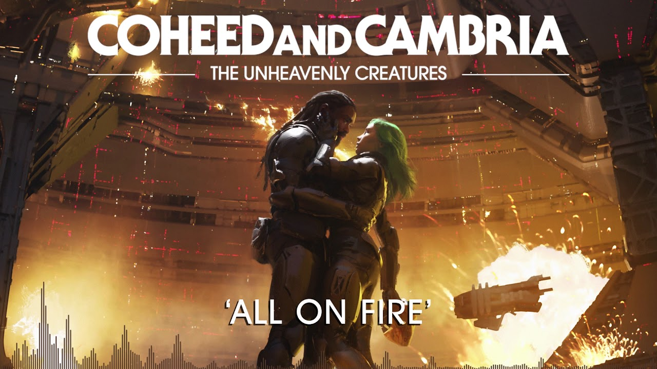 Coheed and Cambria: All On Fire (Official Audio)