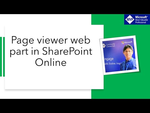 Page Viewer Web Part In SharePoint Online Or SharePoint 2013/2016