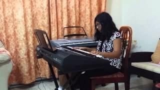 My Heart Will Go On - Titanic Theme song on Keyboard - Malavika Harish