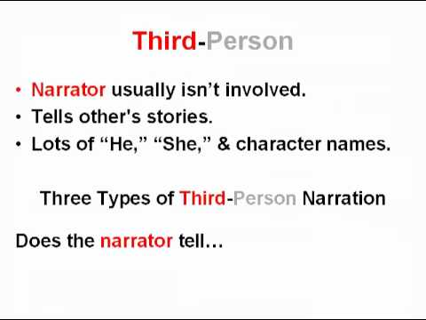 Point of View & Narrator's Perspective Lesson | Teaching Common Core Reading Skills