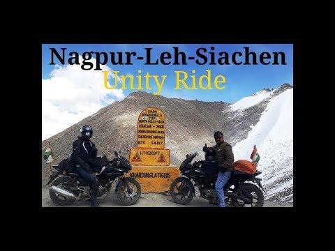 Ladakh Trailer   Pulsar220   IndianJinetes Nagpur to siachen Hindu Muslim Ekta