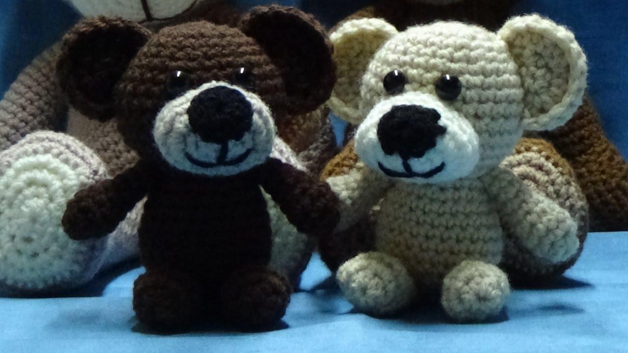 Kleiner Teddybär Zum Selber Häkeln Schritt Für Schrittger Youtube