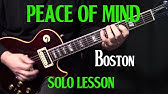 Peace of Mind Guitar Lesson Pt 2 (Chords/Rhythms) - Boston