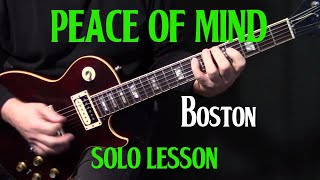 "how to play ""Peace of Mind"" on guitar by Boston 