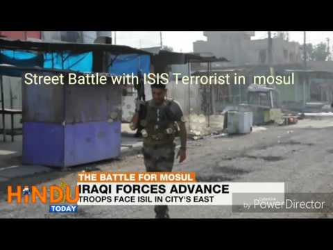 Street Battle with ISIS Terrorist in Mosul