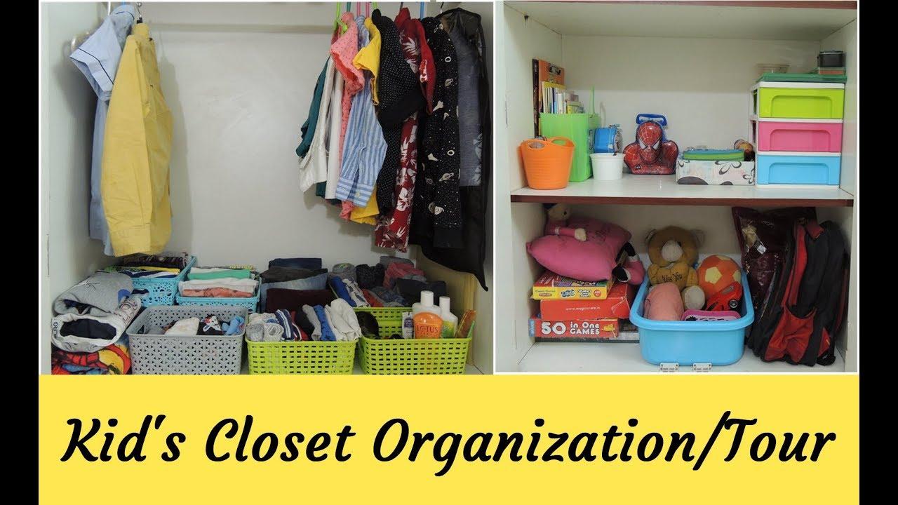 kids closet organization wardrobe organization ideas indian home rh youtube com