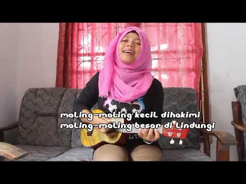 Cover lagu MARJINAL hukum rimba + lirik Versi kentrung By fera chocolatos D