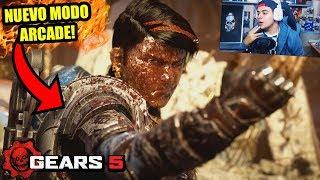 Reaccionando al NUEVO modo ARCADE de GEARS 5!! | *Multijugador PERFECTO* | Trailer Oficial