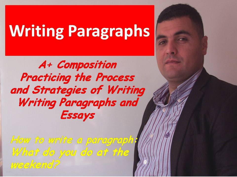 how to write a paragraph in english