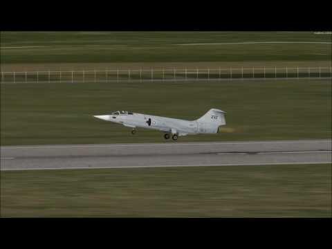 Prepar3d. SSW F-104G Takeoff