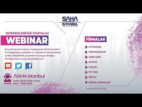 SAHA İstanbul Test ve Sertifikasyon Komitesi 29.05.2020 CANLI YAYINI