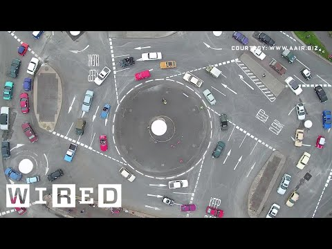 See How an Insane 7-Circle Roundabout Actually Works | WIRED