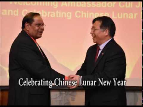 Celebrating Chinese Lunar New Year