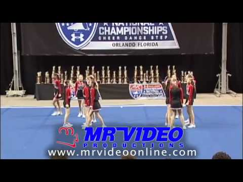 AYC Cheer Nationals 2008 - Division 15 Small Red - South Attleboro White Hawks