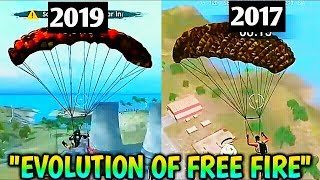 Evolution of Garena Free fire|Free Fire 2017 vs 2019|New Free Fire and Old Free Fire Comparison|