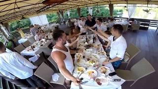 Свадьба Марины и Эдика часть 2!!!! Вау !!