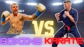 Jake Paul VS Wonderboy??? Does KARATE Translate To Boxing?
