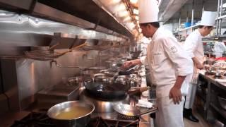 In The Kitchen at Shang Palace at Kowloon Shangri-La in Hong Kong