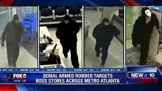 Serial armed robber targets Ross stores across metro Atlanta