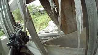 The War Zone airsoft skirmish 8-19-12 game 2 part 2