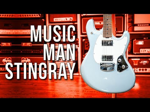"The ""Chunk in the Trunk"" Double Hamburger Guitar - Music Man Stingray"