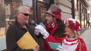 Christmas Carol Ambush with Amy Poehler!