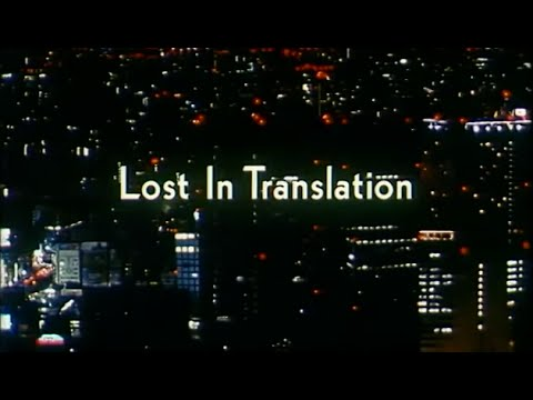 Lost In Translation - Bande Annonce - YouTube