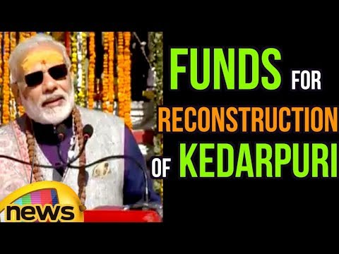 PM Modi Speech Over Funds For Reconstruction of Kedarpuri | Mango News