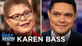 Karen Bass - Trump's War Powers, Impeachment and the Congressional Black Caucus | The Daily Show
