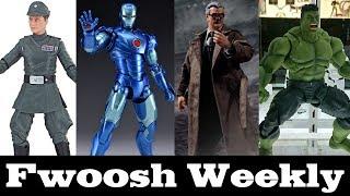 Weekly! Star Wars Piett, SHF Avengers Infinity War, Transformers Megatron, One:12 Batman and more!