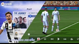 Game Android Offline FIFA 14 Mod FIFA 19 New Adboards (Review)