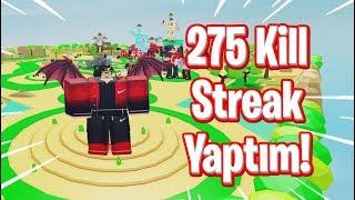 275 KİLL STREAK YAPTIM! / Roblox Lifting Simulator